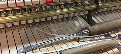 laboratorio restauro pianoforti