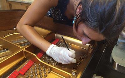 laboratorio pianoforti